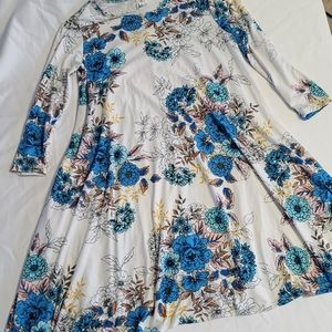 Honey & Lace Floral Mini Dress Size X-Small